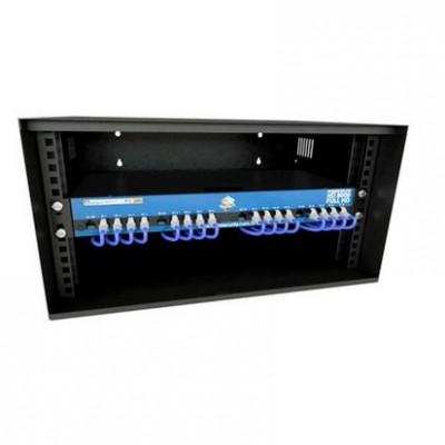 Kit Power Balun Hd 8000 Full Hd 16ch + 01 Mini Rack 05u