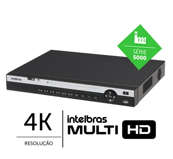 DVR Multi Hd 16 CH MHDX 5216 4K