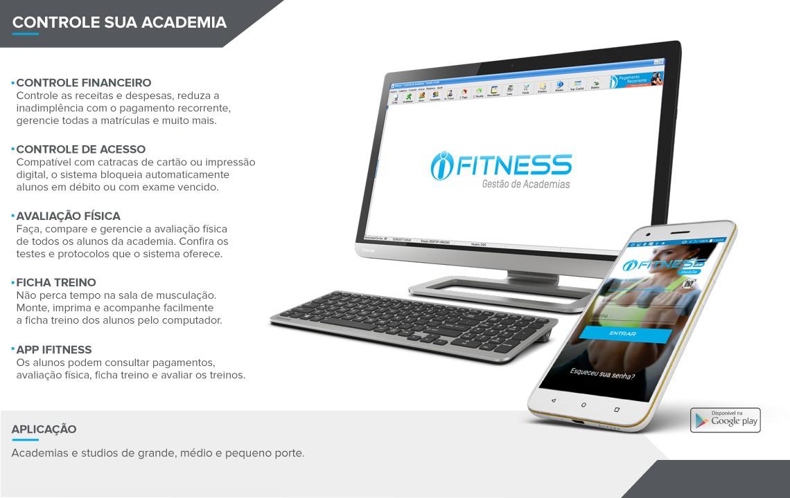 iFitness – Software para controle de Academia