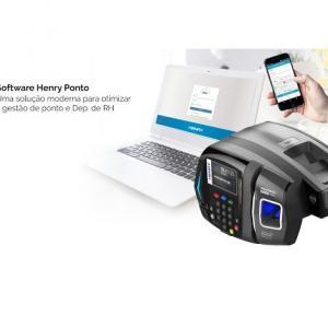 Controle de ponto eletrônico biométrico